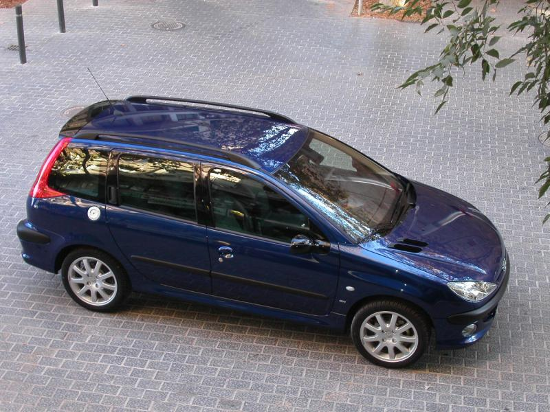 The Peugeot 206 Gti Page